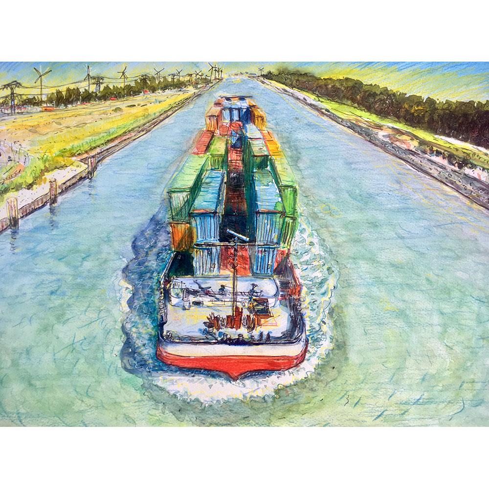 Vereniging van Waterbouwers, jubileumcadeau Rijn & Binnenvaart